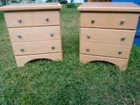Two 3 drawer night stands. Madeira Beach, 33708