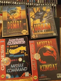 Sega Genesis games for sale individually