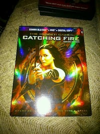 Catching fire Blu-ray