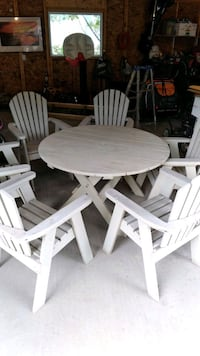 The Bear Chair Solid Wood patio set