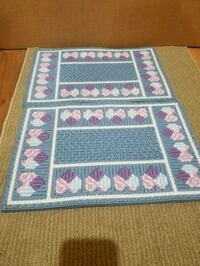 Vintage Needlepoint 4pc Placemats  Mount Gilead, 43338