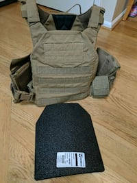 Body Armor, XL carrier with plate Centreville, 20120