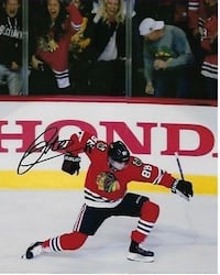 Patrick Kane Signed Autographed Photo 8x10 Chicago Blackhawks  559 km