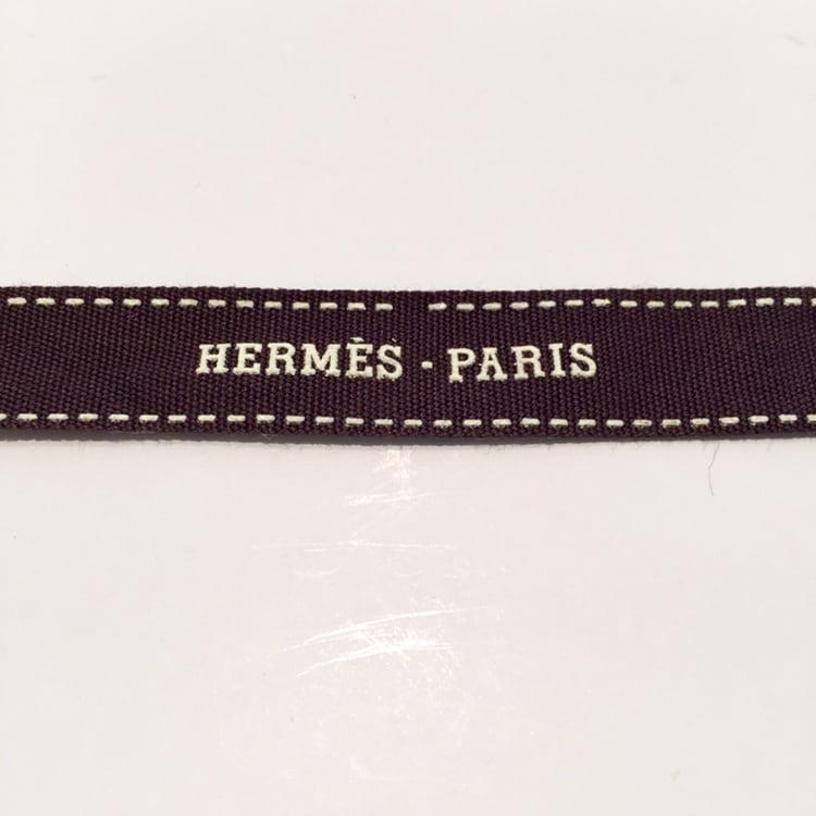 Hermes Ribbon Authentic