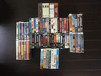 VHS COLLECTION - Disney, Action, Comedy Surrey, V3X