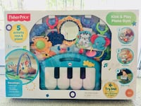 Fisher-price activity gym box Falls Church, 22042