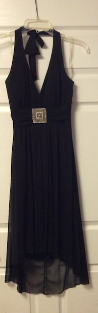 Black halter top dress Middleburg, 32068