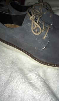 pair of gray suede slip on shoes San Diego, 92109