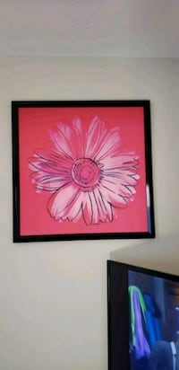 framed painting of pink daisy flower North Las Vegas, 89081