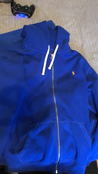 blue Nike zip-up hoodie Winnipeg, R2X 1K9