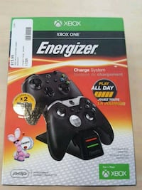 XBOX ONE ENERGIZER CHARGE SYSTEM PDP