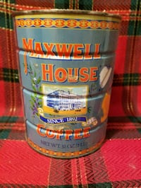 Vintage 2 lb Maxwell house coffee can Cranston, 02920