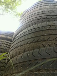 4-225-60-17GOOD USED TIRES!! LOTS OF GOOD RUBBER,, ALL 4 TIRES  SAME Mississippi 25