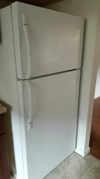 white top-mount refrigerator 2379 mi