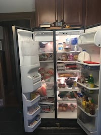 Stainless steel side-by-side refrigerator St. Louis, 63110