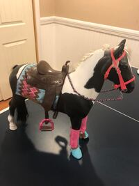 Horse for American Girl sized doll. Smoke free home.  $12 Chester, 03036