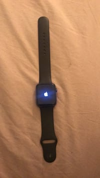 space gray aluminum case Apple Watch with black Sport Band Suitland, 20746