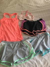 Size XS workout shirts &tops Reston, 20194
