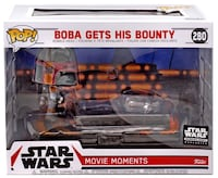 Funko Star Wars Smugglers Bounty Boba Fett Movie Moments Bellflower, 90706