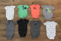 Baby Boy Clothes- Carter Onesie Lot (6-9m) Hamilton, 45011