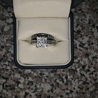 10kt White Gold Engagement Ring Set Dearborn Heights, 48125