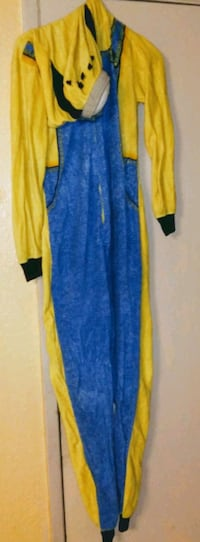 women's blue and yellow long sleeve dress Norman, 73071