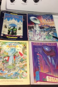 vintage football game programs  Alexandria, 22303