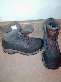 pair of black-and-gray boots Peterborough, K9J 7G8