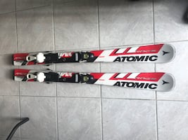 Kids Skis Atomic 100cm for Boy/Girl + Boots