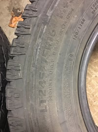 245/75/16 winter tires 2 pcs
