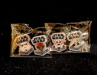 Funko Star Wars 6 Patches and 7 Pins Silver Spring, 20901