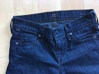 Citizens of Humanity Jeans, low-rise straight leg, ladies size 25-$15 Mississauga