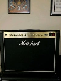black and gray Marshall guitar amplifier Centreville, 20121