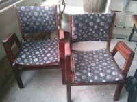 A pair of refurbished fantastic mid-century chairs Toronto, M4Y 2L1