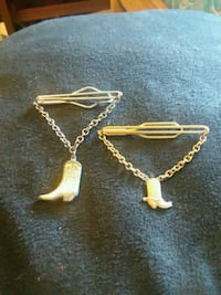 Two vintage tie clips 1773 mi