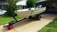 1968 monark 14 foot deep V with 64 inch beam St. Louis, 63126