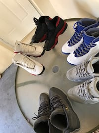 four pairs of assorted shoes 874 mi