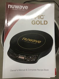 Nuwave hot plate & pans Mansfield, 02048