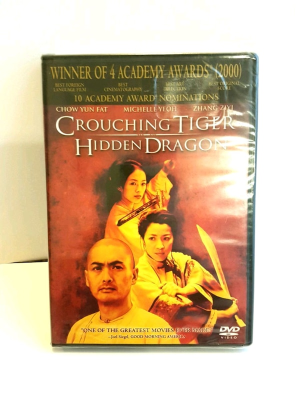 NEW, SEALED Crouching Tiger Hidden Dragon DVD