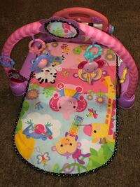 baby's pink and multicolored activity gym Picayune, 39466