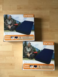 """Intex Airbed - Twin 8.75"""" Classic Downy Inflatable Airbed Mattress Burke, 22015"""