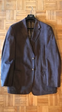 Brown Suede Blazer size 42r Burlington, L7P 0S8
