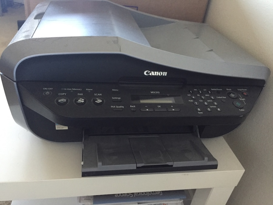 CANON MX310 SCANNER DRIVER FOR WINDOWS 10