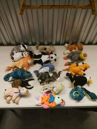 Beanie babies 10,000 of them Calgary