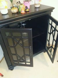 black wooden framed glass display cabinet Alexandria, 22314