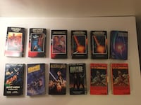 Star Wars and Star Trek VHS Tapes (and MIB and Ten Commandments) Houston, 77079
