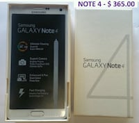 silver Samsung Galaxy Note 4 with box Markham, L3S
