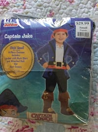 Captain Jake Costume size 4-6 Los Angeles, 91325