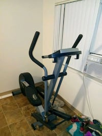 black and gray elliptical trainer Vancouver, 98665