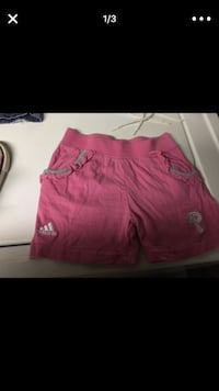 "Adidas ""PHILLIES"" pink/gray shorts Philadelphia, 19148"